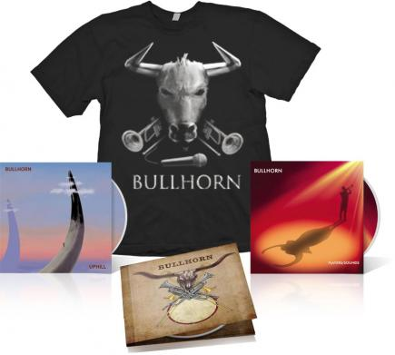 Bullhorn - T-shirt and Album Bundle